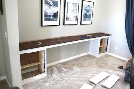 Wall-to-Wall Built-In Desk: Part 2, The Build