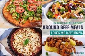 These recipes are easy to double for a larger crowd. Cook Once Serve 4 Times Low Carb Ground Beef Meal Prep Video