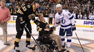 From wikipedia, the free encyclopedia this category covers ice hockey players who have either died while playing, died directly from injuries sustained while playing, or died after taking ill during a game. Travis Roy Paralyzed Ex Boston University Hockey Player Dies At 45 Cbssports Com