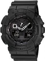 "oversized watches large oversize watches watch shop comâ""¢ mens casio g shock alarm chronograph watch ga 100 1a1er"