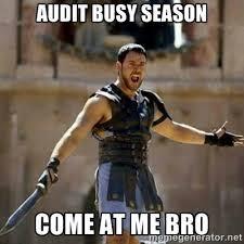How To Survive Big 4 Busy Season - via Relatably.com