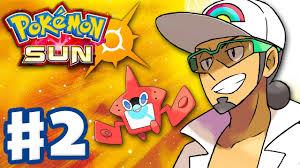 Pokemon Sun and Moon - Gameplay Walkthrough Part 1 - Alola Intro and Litten  Starter! (Nintendo 3DS) - YouTube