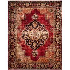 safavieh vintage hamadan red multi 8 ft x 10 ft area rug