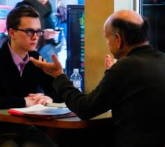 the informational interview networking in moving to