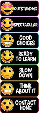 Behaviour Clip Chart Emoji Clip Chart Behavior System Editable Version Included