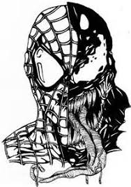 Small Picture Marvel Venom Coloring Pages marvel venom colouring pages page 3