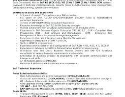 sap basis administrator resume sle sap basis resumes matchboard
