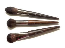 make up for ever brushes artisan brush collection 160 blush brush 152 um highlighter brush