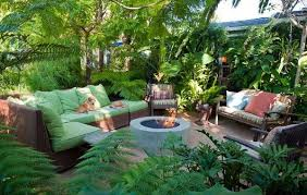 Small Picture Amazing Small Tropical Backyard Ideas Tropical Front Yard