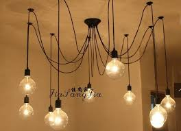 chandelier inspiring with edison bulbs rustic inside light for chandeliers idea 13
