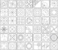 Printable Quilt Patterns templates for quilting perfect patchwork ... & Printable Quilt Patterns templates for quilting perfect patchwork templates  at from marti Adamdwight.com