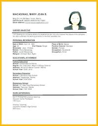 Sample Resume Format For Job Application Doc A Applying Regarding