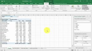 create an excel pivottable based on multiple worksheets you 1280x720 pixel tmlf