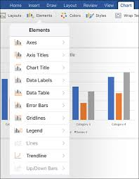 How To Insert Chart Title Modify Charts In Office On Mobile Office Support