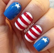 american flag nail art ideas 2020 4th