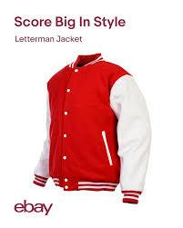 Details About Unisex Varsity Style Fashion Letterman