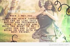 Best Friend Love Quotes Adorable Love Quotes On Best Friend Full Hd Images New HD Quotes