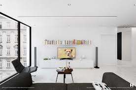 Black And White Living Room 6 Perfectly Minimalistic Black And White Interiors