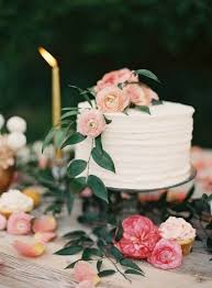 Wedding Trend Single Tier Cakes Weddings Buttercream Wedding