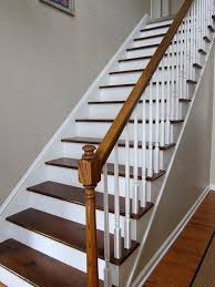 awesome wood stairs with painting wooden ideas for interior and 13