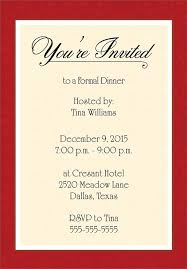 Captivating Seasonal Party Invitations Card With Red Border