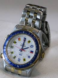 reserved vintage timex indiglo quartz mens watch classic reserved vintage timex indiglo quartz mens watch classic nautical timepiece maritime signal flag hour markers