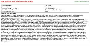Newsletter Cover Letter Editor Newsletter Cover Letters
