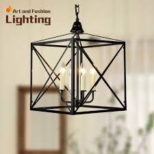 wonderful iron pendant light aliexpress new arrival nordic cage