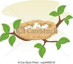 bird nest with eggs clipart. Perfect Bird Birds Nest And Egg  Csp34450418 Throughout Bird With Eggs Clipart P