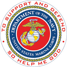 Department of the Navy - U.S. Marine Corps Logo Vector (.EPS) Free ...