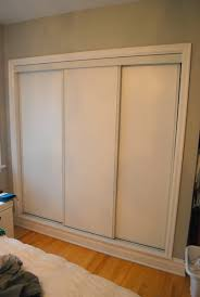 ... Incredible Sliding Closet Doors For Bedrooms And Painted Sliding Closet  Doors Faux Trim Effect The Sweetest ...