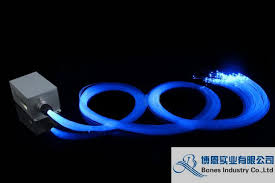 0 25mm end glow fibre