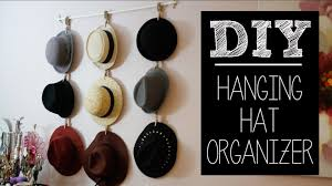 clip up diy hat rack