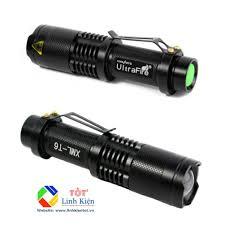 Siêu sáng] Đèn pin XML-T6 siêu sáng, loại tốt, chống nước dùng pin 18650 - Đèn  pin