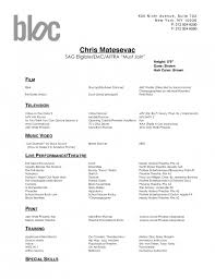 ... Dancer Resume Example Socialscico How To Make A Dance Resume