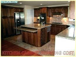kitchen refacing cost cabinet cabinets doors for garage door refinishing ottawa full size