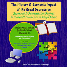 history economic impact of the great depression research history economic impact of the great depression research presentation