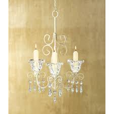 whole crystal blooms candle holder chandelier