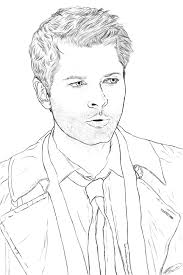 supernatural coloring pages | Just Colorings