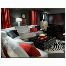 black and red furniture. red black and gray living room furniture