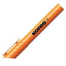<b>Маркер</b>-<b>текстовыделитель</b>, 4.0, <b>KORES</b>, оранжевый (479025 ...
