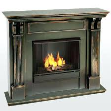 fireplace surround stone screens with doors image gel fuel vs electric