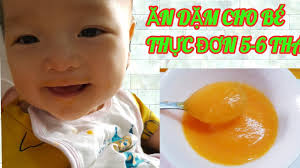 Cháo rây 1:10 cà rốt cho bé ăn dặm -Thực đơn 5-6 tháng |