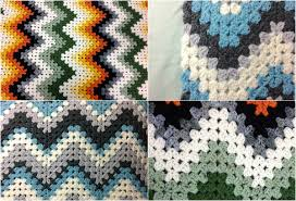 Ripple Afghan Pattern Magnificent Decorating Ideas