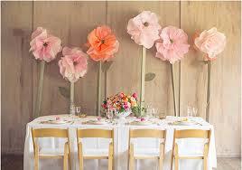 flowers wedding decor bridal musings blog: oversized flowers wedding decor bridal musings wedding blog