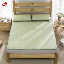 Cool bed sheets for summer Soft Lifeng Home Summer Straw Mat Cool Bed Mat Natural Straw Mattress Cover 180198cm Fitted Bed Protection Pad Green Rubber Sheet Snapdeal Lifeng Home Summer Straw Mat Cool Bed Mat Natural Straw Mattress