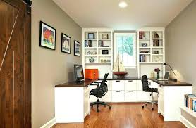 Home Office Designs For Two Delectable Office Cabinet Design Ideas Beautiful Interior Home Furniture
