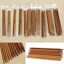 Brand New <b>55Pcs 11sizes 5</b>'' <b>13cm</b> Smooth Handle Double Pointed ...