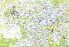 rome maps  italy  maps of rome (roma)