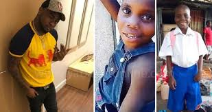 Image result for DAVIDO SPONSORS A KID TO SCHOOL